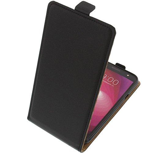 foto-kontor Tasche für LG X Power2 Smartphone Flipstyle Schutz Hülle schwarz