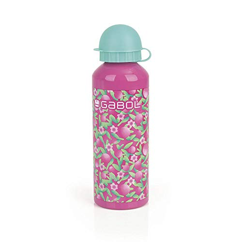 Gabol - Cherry | Botella de Aluminio Intantil BPA-Free