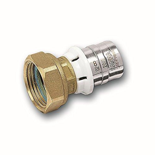 Alu-Verbundrohr Pressfitting bleifrei SANHA halbe Verschraubung 32 mm x 1 1/4