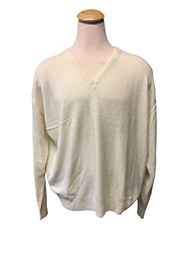 Jantzen Big and Tall V-Neck Sweater 4X Cream