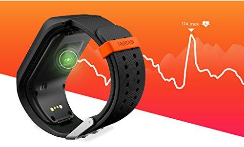 TomTom ADVENTURER - Montre GPS Multisports + Cardio + Music - Noir