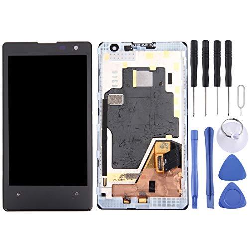 PANGTOU - Schermo LCD per cellulare con display LCD + pannello touch con cornice per Nokia Lumia 1020