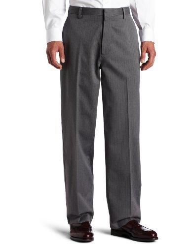 Dockers Men's Never Iron Essential Khaki D3 Classic-Fit Flat-Front Pant