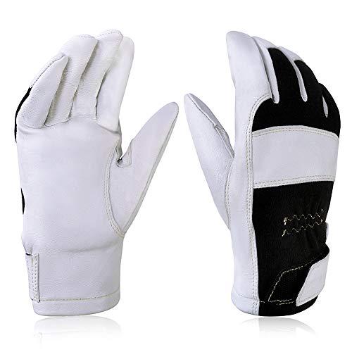 Intra-FIT TIG Welding Gloves, Premium Grain goat skin, spark-resistant Nomex back, With Kevlar Stitching