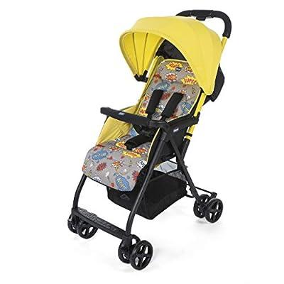 Chicco Ohlala2 Silla de paseo ultraligera y compacta, solo 3,8 kg, color amarillo estampado