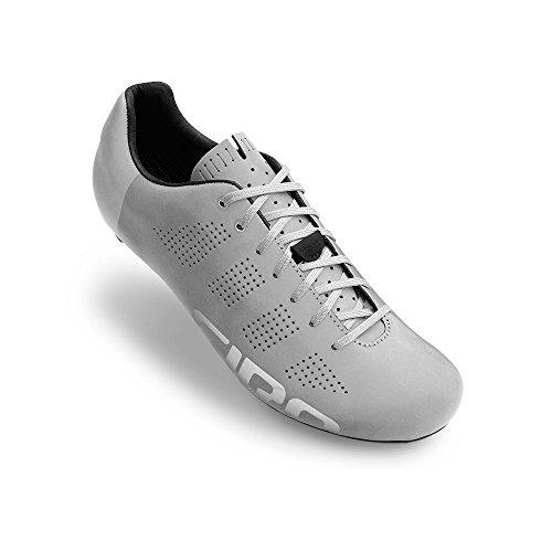 Giro Empire Acc Mens Road Cycling Shoe − 42, Silver Reflective...