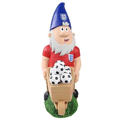 Forever Collectibles UK EPL England FA Schubkarre, Gartenzwerg, 26,7 cm, Dekoration für drinnen und draußen