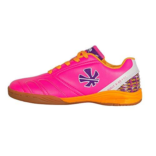Reece Bully X80 Indoor Hockey Schuhe Halle rosa-orange Kinder rosa-orange, 35