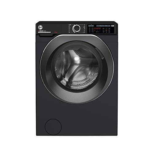 Hoover H-Wash 500 HWD610AMBCB Free Standing Washing Machine, Care Dose, A+++, 10 kg, 1600 rpm, Black