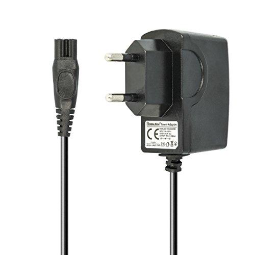 Akku-King Ladegerät Netzteil Ladekabel 100V-240V (15V/0.5A) für Philips Rasierer der HQ-, HS-, RQ-, at-, PT-Serie - ersetzt CRP136