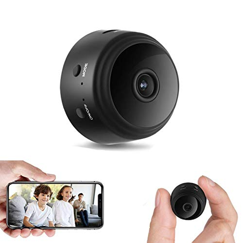 Mini Spy Camera 1080P WiFi Hidden Camera Wireless Night Vision Motion Detection Security Surveillance Cameras Nanny Baby Pet Cam Indoor Outdoor Video Recorder with Phone APP