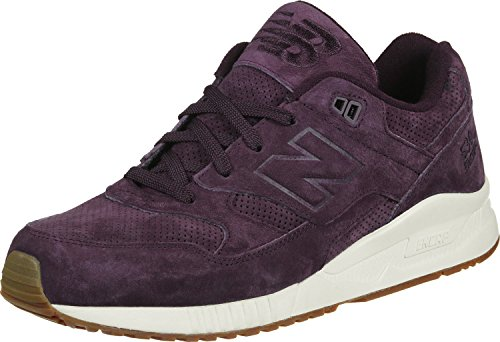 New Balance 530 Luxe Suede Mens Fashion-Sneakers bstn_M530PRC_11.5 - Supernova Red