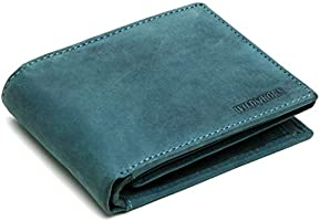 WILDHORN Genuine Leather Hand-Crafted Wallet For Men, Bifold Leather Wallet