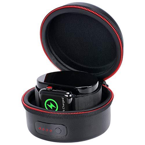 Preisvergleich Produktbild Smatree Ladetasche für Apple Watch Serie 1,  Serie 2,  Serie 3,  Serie 4 (Original-Magnetladekabel Nicht im Lieferumfang enthalten) Nicht für Apple Serie 5 geeignet