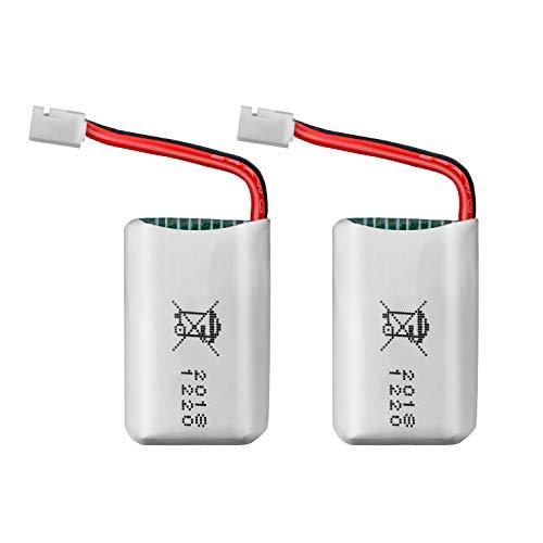 ATOYX Batteria originale per Drone AT-66, batteria al litio, 2 pezzi, 3,7 V, 220 mAh, per Mini Drone AT-66-2 pezzi