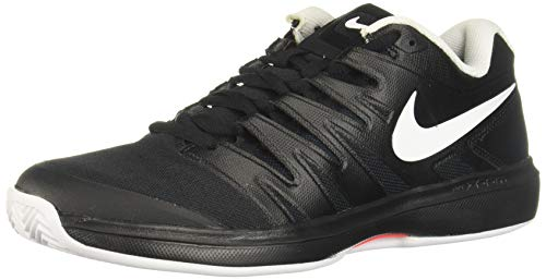 Nike Air Zoom Prestige Cly, Scarpe da Tennis Uomo, Nero Black White Bright Crimson 001, 42 EU