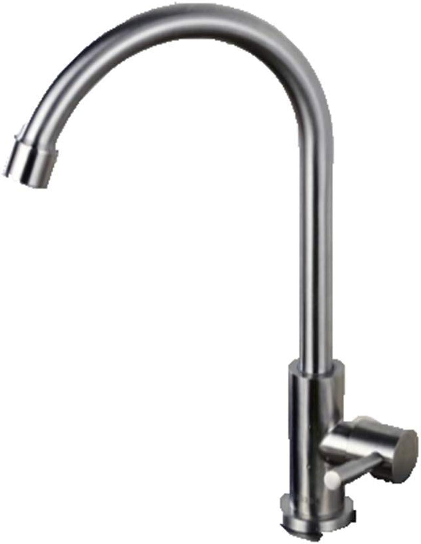 Ldoons Kitchen Bathroom Steel redating Bathroom Basin Single Cold A Faucet