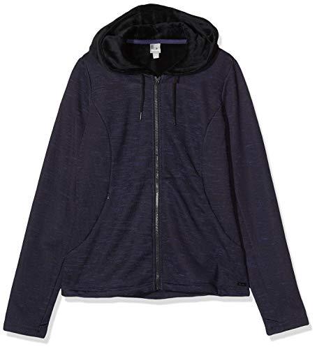 Bench Damen Bonded Short Velvet Jacket Jacke, Schwarz (Black Beauty Bk11179), Medium