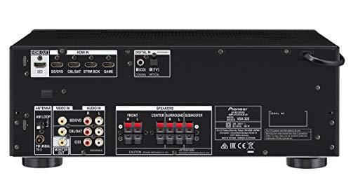 Pioneer HTP-074-S - Pack Receptor A/V y Altavoces (con 4K Pass Through y Altavoces con Audio HD)
