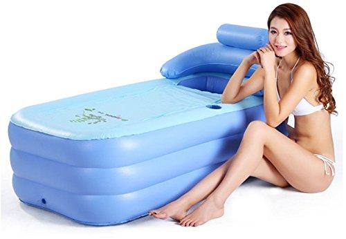 Best Prices! MBJZ Inflatable bathtub thick plastic tub bath steam bath tub bath tub, children pink,1...
