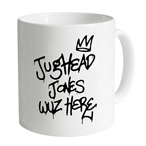 Shotdeadinthehead Inspired by Riverdale - Jughead Wuz Here Tazza