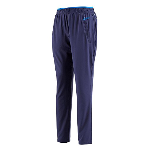 Asics Men's Performance Woven Pant Tracksuit Bottoms - Strong Navy, Small