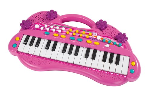 Simba 106830692 - My Music World Girls Keyboard 39 cm