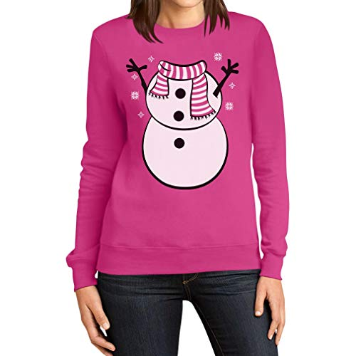 Ugly Christmas sneeuwpop pak vrouwen sweatshirt