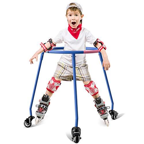 Skater-Aid, Skate Trainer, Skate Trainers, Trainer Roller Skates, Skating Trainer, Roller Skate Trainers, Skate Trainers, Roller Sckate Trainer, Patented Design (Blue, Large)