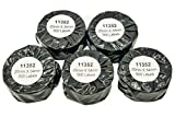 11352 - Etiquetas de dirección (500 etiquetas por rollo, 25 x 54 mm, 5 rollos), compatibles con las impresoras de etiquetas Dymo LabelWriter y Seiko.