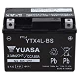 【Amazon.co.jp限定】 TAIWAN YUASA 【台湾ユアサ】 AGM-BIKE-BATTERY クロス付 YTX4L-BS