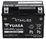 【Amazon.co.jp限定】 TAIWAN YUASA 【台湾ユアサ】正規品 AGM-バイク用バッテリー クロス付 YTX4L-BS