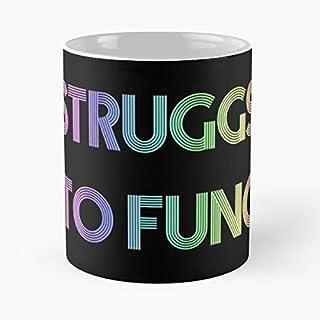 Struggs to Func - Pastel Rainbow Classic Mok 11 Ounces Grappige Koffie Gag Cadeau.Het beste cadeau voor vakanties-apolacet