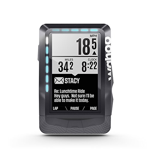"Wahoo Fitness Elemnt GPS 2.7"" Wireless bicycle computer Negro - Ordenador para bicicletas (6,86 cm (2.7""), 16 h, 57,5 mm, 21,2 mm, 90,5 mm, 99,2 g)"