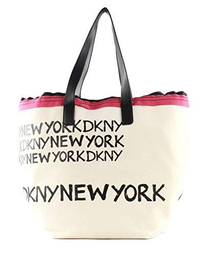 DKNY Cori Shopper Ivory Multi