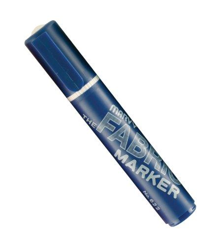 Uchida 622-C-3 Marvy Broad Point Fabric Marker, Blue