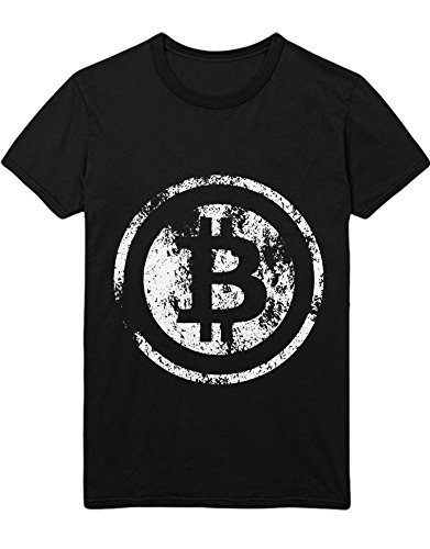 T-Shirt Cryptocurrency Bitcoin H000022 Schwarz M