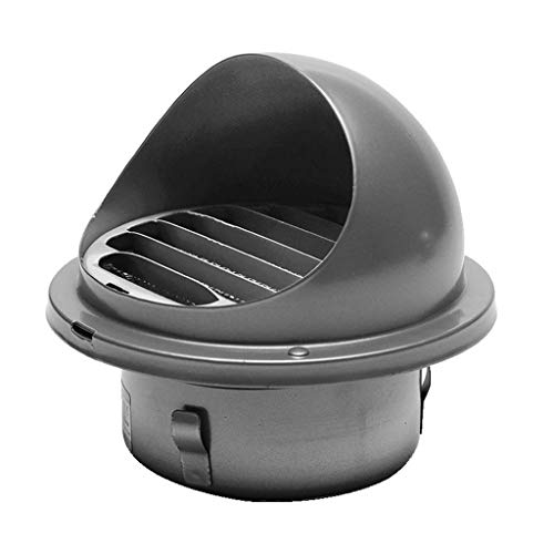 Fantastic Deal! LXLTL Outdoor Chimney Vent Cowl Cap Stainless Steel Rainproof Exterior Wall Air Outl...