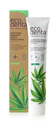 Ecodenta Zahnpasta Ohne Fluorid Multifunktionale 75ml Toothpaste Zertifizierte Organische Mit Matcha Kaliumcitrat Aloe Vera-saft Ätherischem Pfefferminzöl