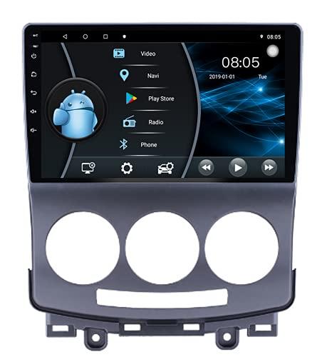 AEBDF Android 10 Car Radio, Eonon Car Radio 9 Pulgadas IPS HD Pantalla táctil Aplicable a 2006 2007 2008 2009 2010 2011 2012 2013 Mazda 5,4 Core WiFi 4G 2+32(1din)