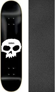 Zero Skateboards Single Skull Skateboard Deck - 8