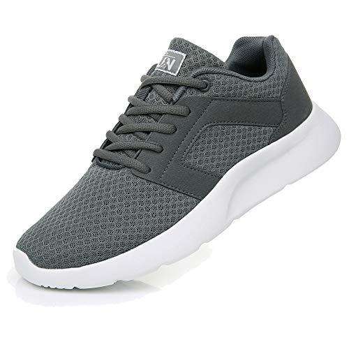 Uricoo Herren Damen Sneaker Outdoors Straßenlaufschuhe Sports KletterschuheTurnschuhe Running Fitness Atmungsaktiv Leichte Laufschuhe Sportschuhe 8996GY41