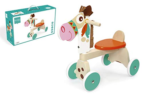 Scratch Mobility: 4-WHEEL WALKER INDIAN PONY 62x25x50cm, max. 25kg, in box, 1-3 y