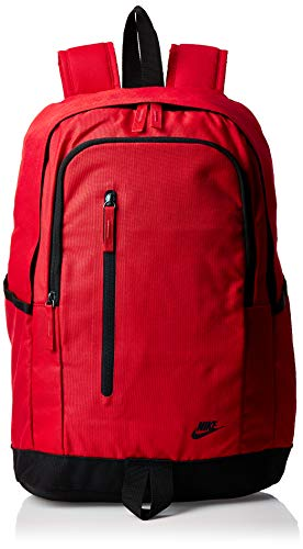 NIKE All Access SOLEDAY Backpack Rucksack BA5532-657 rot