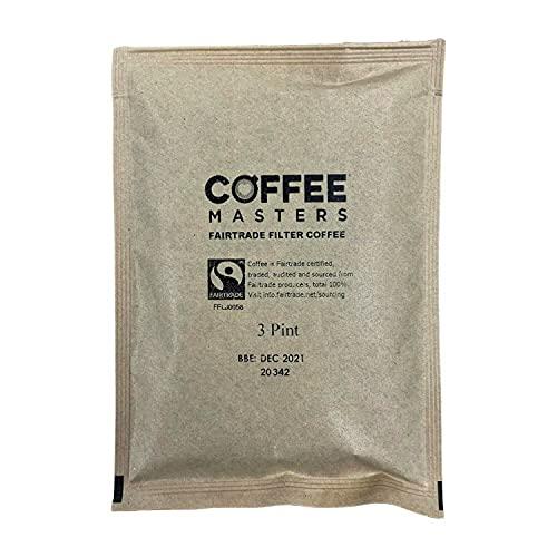 Coffee Masters Fairtrade Ground Filter Coffee Sachets (50x50g)