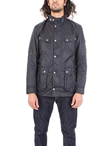 Barbour BACPS1677-MWX Navy International Duke Winter Jacket Navy Blue Hombre Azul marino XXXL