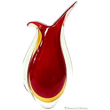 Qualia Bali Decorative Vase 20 Red Q541301R
