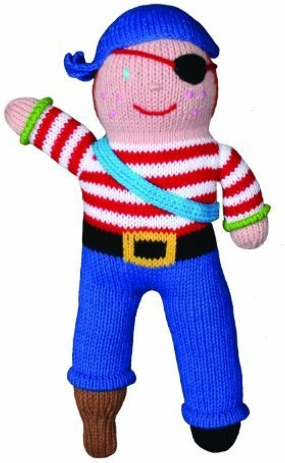 Zubels Pirate Arrnee 12-inch Hand-Knit Doll by Zubels
