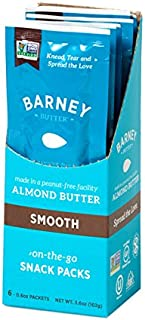 Barney Butter Nut Butter Almond Smooth, 6 ct