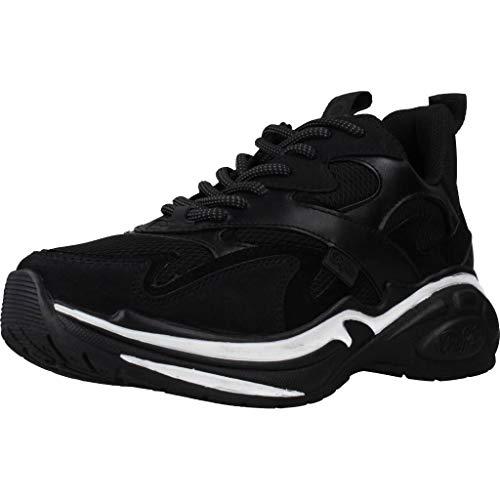 Buffalo Damen CAI Sneaker, Schwarz (Black 001), 36 EU